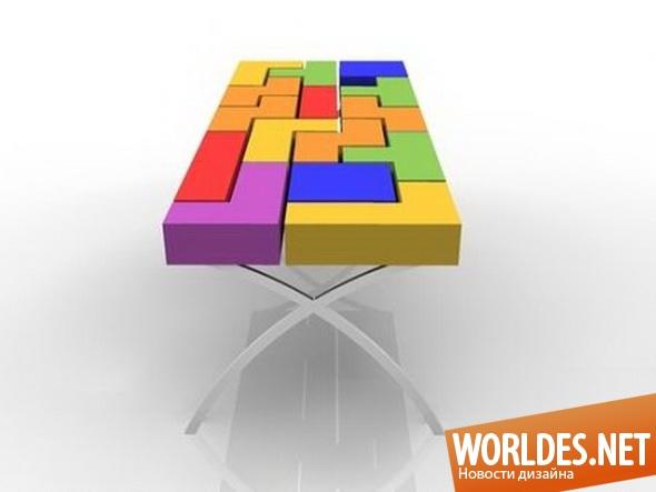 дизайн мебели, дизайн стола, дизайн обеденного стола, мебель, стол, обеденный стол, современный стол, оригинальный стол, современный обеденный стол