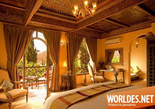 дизайн интерьера, дизайн интерьеров, дизайн интерьера спальни, дизайн спальни, спальня, спальня в восточном стиле, современная спальня, восточная спальня, красивая спальня