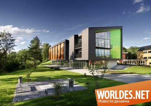 архитектурный дизайн, дизайн спортивного центра, спортивный центр, современный спортивный центр