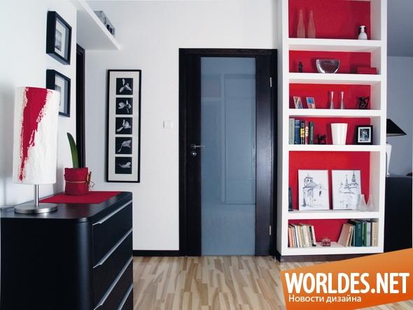 декоративный дизайн, декоративный дизайн дверей, двери, дверь, стеклянная дверь, современные двери, межкомнатные двери