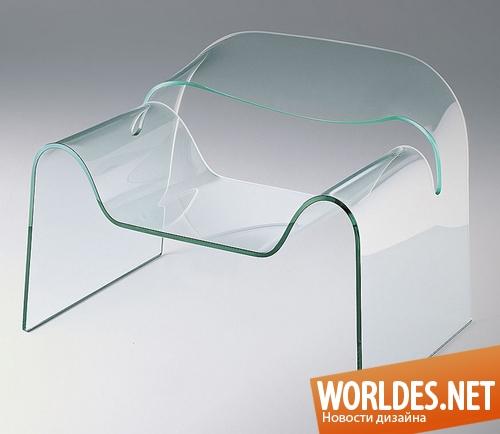 дизайн мебели, дизайн кресла, мебель, кресло, оригинальная мебель, стеклянная мебель, оригинальное кресло, стеклянное кресло, кресло из стекла