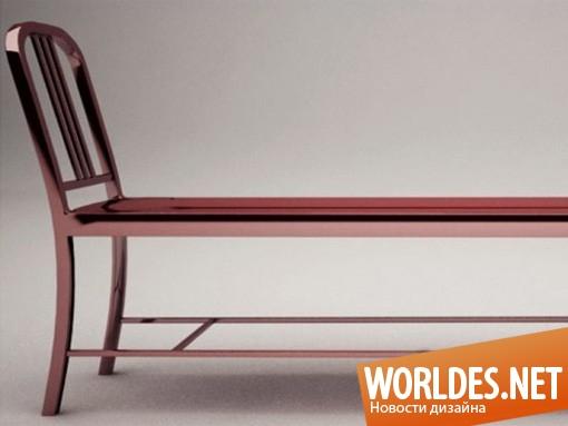 дизайн, дизайн мебели, дизайн скамейки, дизайн скамьи, дизайн стильной скамейки, стильная скамейка, стильные скамейки «Emeco»