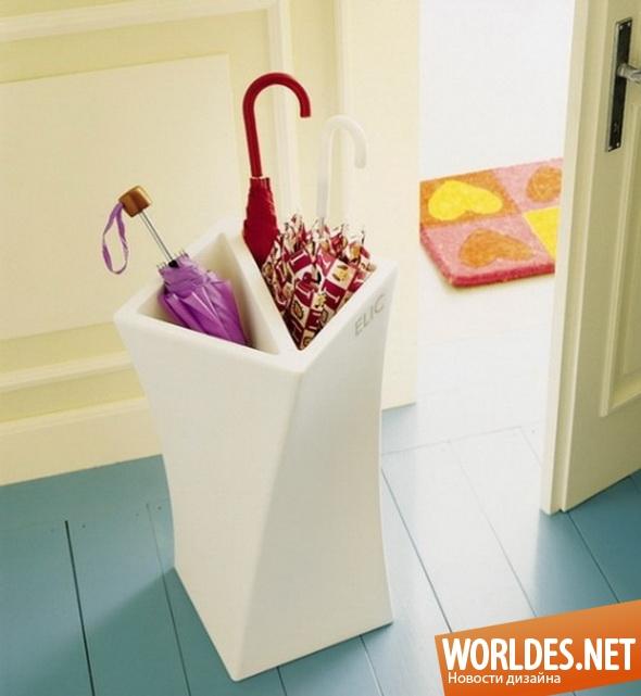 декоративный дизайн стоек для зонтов, стойки для зонтов, практичные стойки для зонтов, современные стойки для зонтов