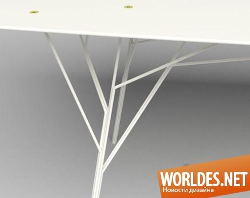 дизайн мебели, дизайн стола, стол, оригинальный стол, столы, интересный стол, современный стол, необычный стол, красивый стол