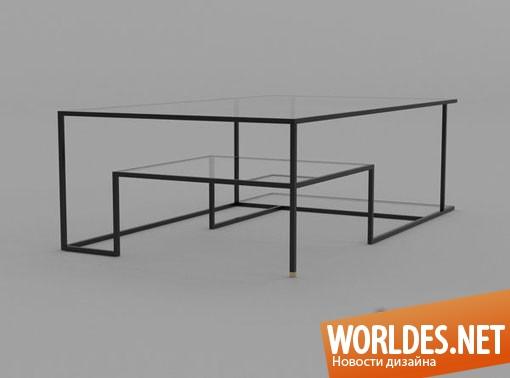 дизайн мебели, дизайн стола, стол, столик, необычный стол, оригинальный стол, стеклянный стол, уникальный стол, современный стол, красивый стол