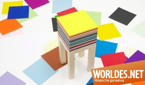 дизайн, дизайн мебели, дизайн столика, дизайн оригинального столика, столик, столик для рисования, столик с 1800 листов бумаги