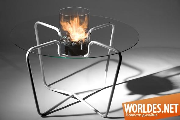 дизайн мебели, дизайн стола, дизайн столика, стол, столик, мебель, оригинальный столик, столик с камином