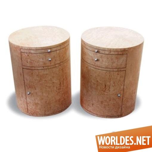 дизайн мебели, дизайн стола, дизайн столика, дизайн прикроватного столика, стол, столик, прикроватный столик, столик с оригинальной формой