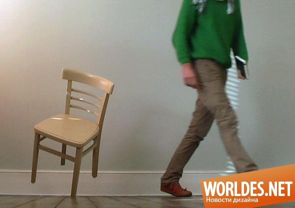 дизайн мебели, дизайн стула, стул, необычный стул, оригинальный стул, уникальный стул, стул на одной ноге