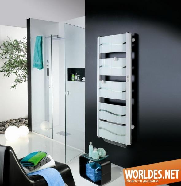 дизайн ванной комнаты, дизайн сушки для полотенец, ванная комната, сушка для полотенец, современная сушка для полотенец