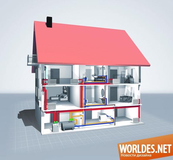 дизайн интерьеров, теплоизоляция, теплоизоляция дома