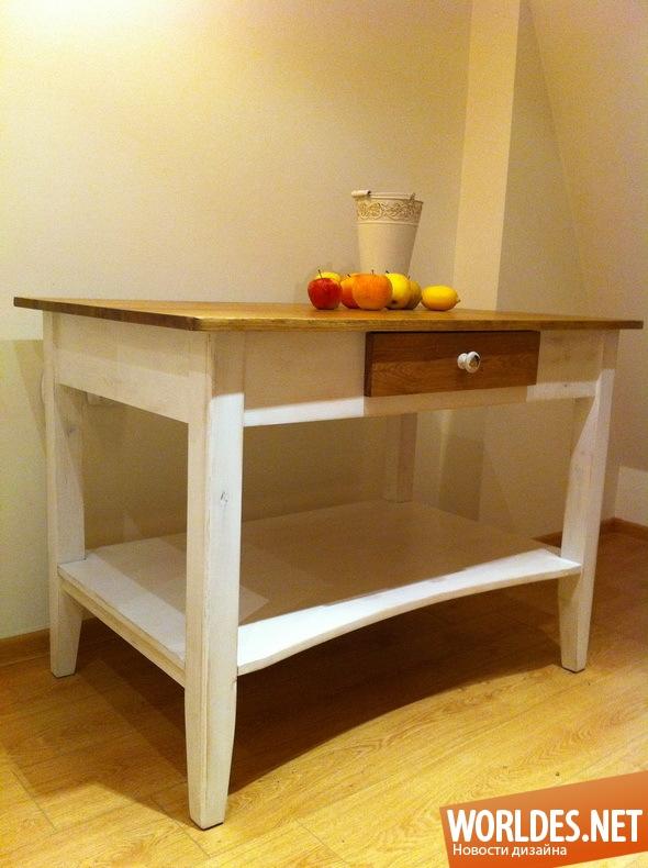 дизайн мебели, дизайн столика, столик, стол, традиционный стол, классический стол, старый стол, бабушкин столик