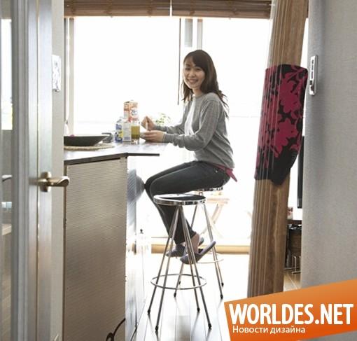 дизайн интерьера, дизайн интерьера квартиры, интерьер квартиры, квартира в тридцать квадратных метров, маленькая квартира, тридцать квадратных метров квартиры Акис