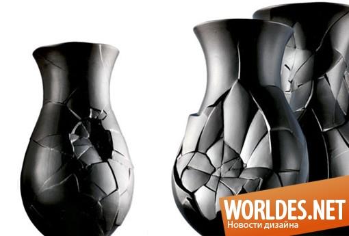 дизайн, декоративный дизайн, декоративный дизайн вазы, декоративная ваза, ваза, дизайн вазы, ваза «Phases»