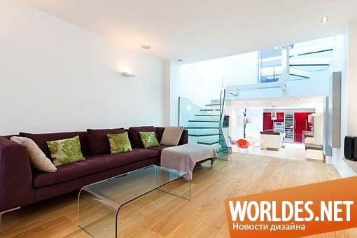 дизайн интерьеров, дизайн интерьера дома, интерьер дома, современный интерьер, вдохновляющий интерьер дома с террасой на крыше
