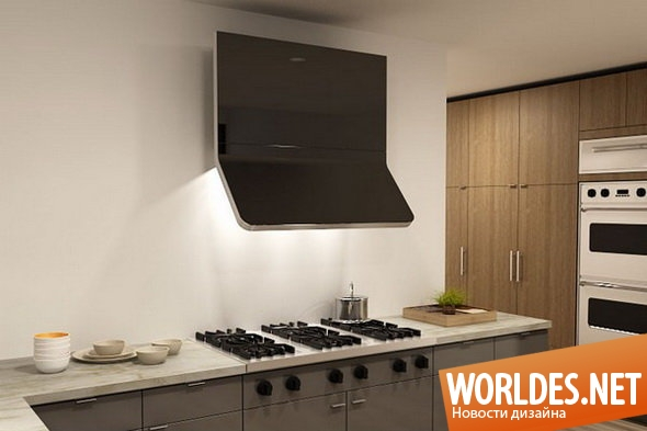 дизайн кухни, дизайн вентиляции для кухни, вентиляция, система вентиляции для кухни, вентиляционные системы для кухни, вытяжки, современные вытяжки, элегантные вытяжки