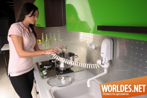дизайн бытовой техники, дизайн водонагревателей, водонагреватели, современные водонагреватели