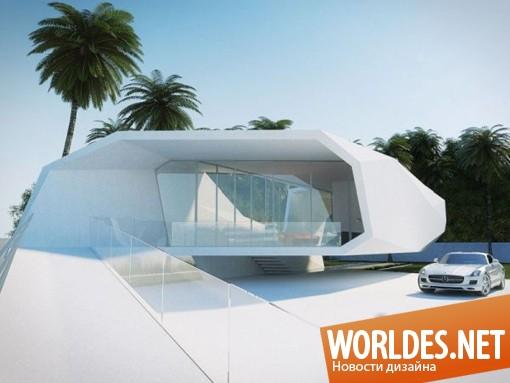 архитектурный дизайн, архитектурный дизайн дома, дизайн дома, дом, оригинальный дом, стильный дом. красивый дом, впечатляющий дизайн дома