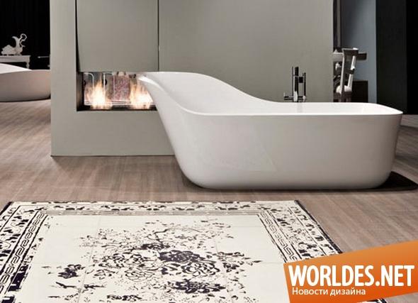 дизайн ванной комнаты, дизайн ванной, ванна, ванная комната, современная ванна, комфортная ванна, удобная ванна, практичная ванна
