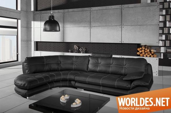 дизайн мебели, мебель, мягкая мебель, современная мебель, угловая мебель
