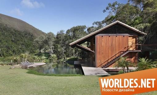 архитектурный дизайн, архитектурный дизайн дома, дизайн дома, дизайн домов, дома, уникальные дома, дома на воде