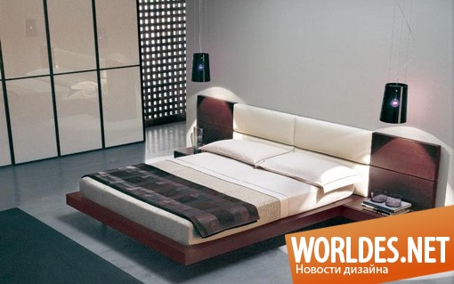 дизайн интерьера спальни, дизайн интерьеров, интерьер спальни, спальня, современная спальня, спальни, современные спальни, уникальные современные спальни