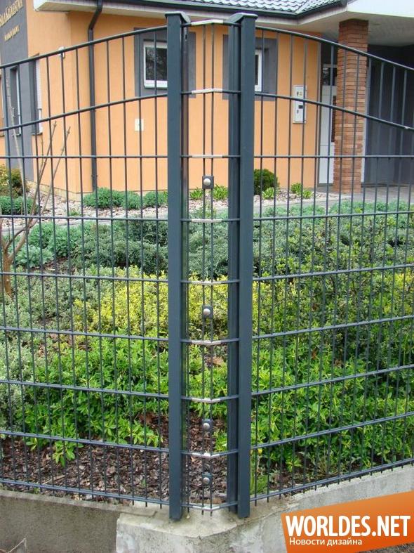ландшафтный дизайн, дизайн забора, забор, современный забор, дешевый забор, забор для двора