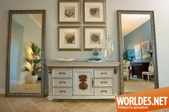 декоративный дизайн, декоративный дизайн зеркал, зеркало, зеркала, декоративные зеркала, оригинальные зеркала, современные зеркала, красивые зеркала, большие зеркала, зеркала для прихожей