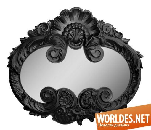 декоративный дизайн, декоративный дизайн зеркала, декоративное зеркало, зеркало, современное зеркало, красивое зеркало, необычное зеркало, зеркало в виде Бэтмена