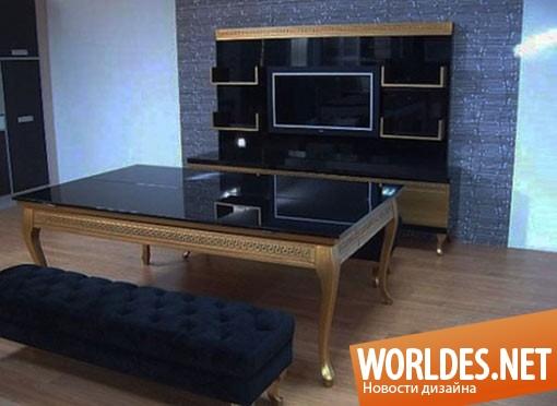 дизайн мебели, дизайн стола, дизайн бильярдного стола, дизайн многофункционального стола, дизайн обеденного стола, стол, бильярдный стол, обеденный стол, золотой стол, шикарный стол, практичный стол