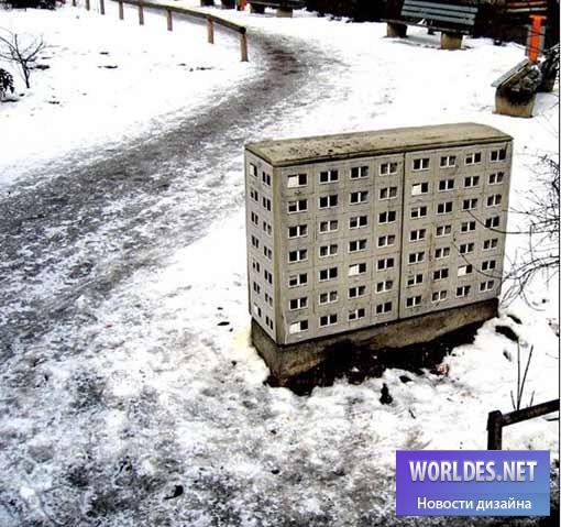 дизайн, ландшафтный дизайн, дизайн блоков, дизайн уличных блоков, уличные блоки, разрисованные уличные блоки