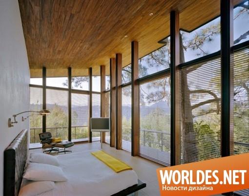 дизайн, дизайн дома, архитектурный дизайн, архитектурный дизайн дома, дизайн дома в лесу, дом в лесу