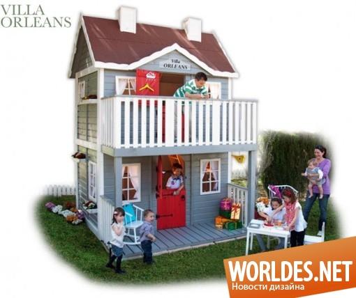 Детский домик в доме
