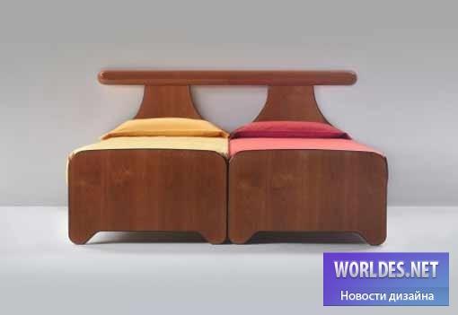 дизайн, дизайн мебели, дизайн кровати, дизайн двойной кровати, двойная кровать, petalo, azucena