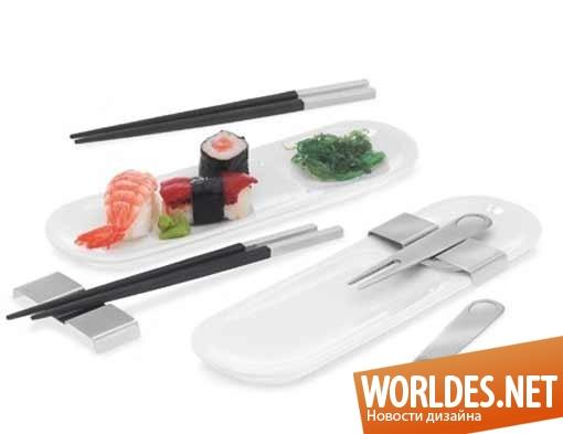 дизайн, дизайн аксессуаров, дизайн аксессуаров для суши, набор для суши, комплект для суши, дизайн посуды для суши, дизайн посуды