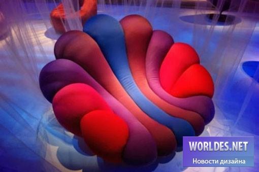 дизайн, дизайн мебели, дизайн кресла, дизайнерское кресло, красивое кресло, кресло, Кресло Anemone