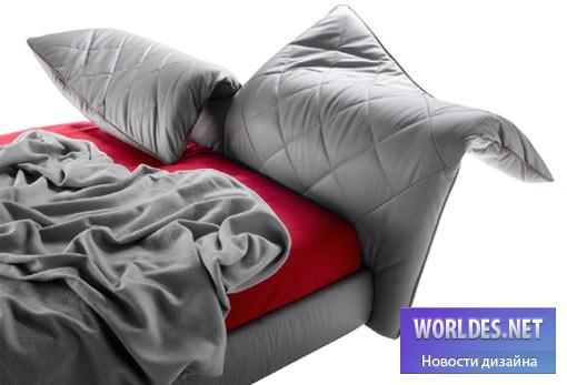 дизайн, дизайн мебели, дизайн дивана, дизайн кровати, кровать, красивая кровать