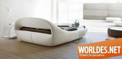 дизайн, дизайн мебели, дизайн кровати, дизайн итальянской кровати, итальянская мебель, итальянская кровать