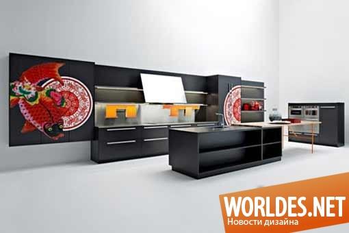 дизайн, дизайн кухни, дизайн кухонной комнаты, дизайн современной кухни, мебель для кухни, дизайн просторной кухни, кухонная площадка