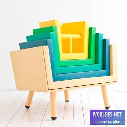 дизайн, дизайн мебели, дизайн детской мебели, дизайн многофункциональной мебели