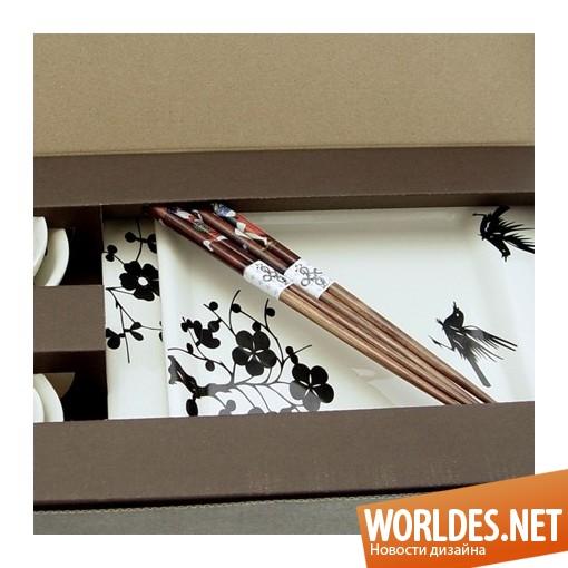 Дизайн аксессуаров, дизайн аксессуаров для суши, набор для суши, посуда для суши, керамическая посуда, керамическая посуда для суши