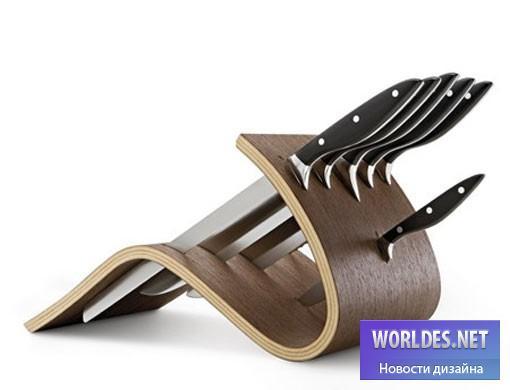 дизайн, дизайн аксессуаров, дизайн аксессуаров для кухни, набор ножей, набор ножей для кухни, дизайн ножей, ножи для кухни