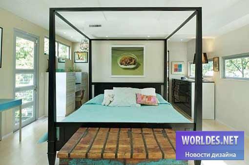 дизайн, архитектурный дизайн, дизайн дома, дизайн домика, дизайн здания, архитектура дома, дизайн квадратного дома, дизайн дома из контейнера