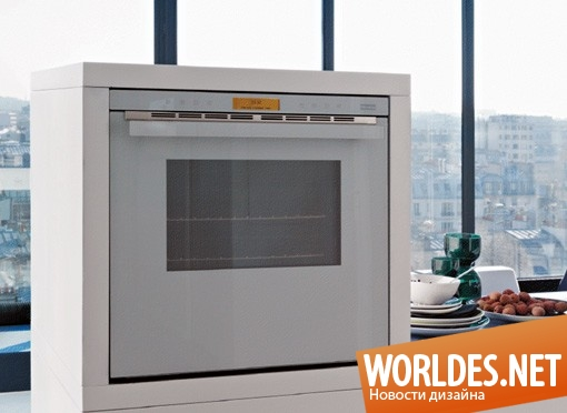 дизайн, дизайн бытовой техники, дизайн печки, новое поколение печей, духовка, дизайн кухонной печи, Crystal White, Franke