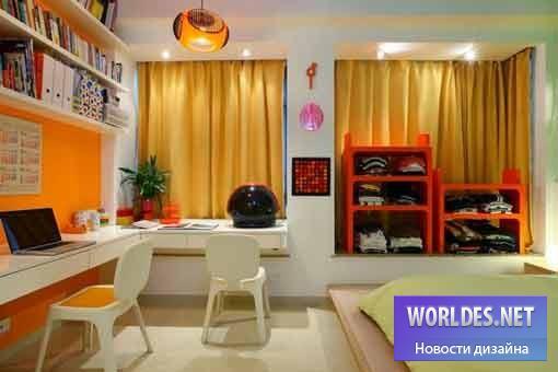 дизайн, дизайн интерьера, дизайн современного интерьера, дизайн интерьера дома, дизайн интерьера в радужном стиле, радужный дом