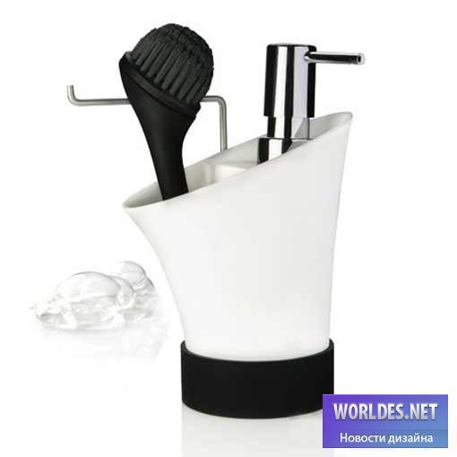 Дизайн аксессуаров, дизайн аксессуаров для кухни, щетки для кухни, нюансы дании, щетки для посуды, дизайн