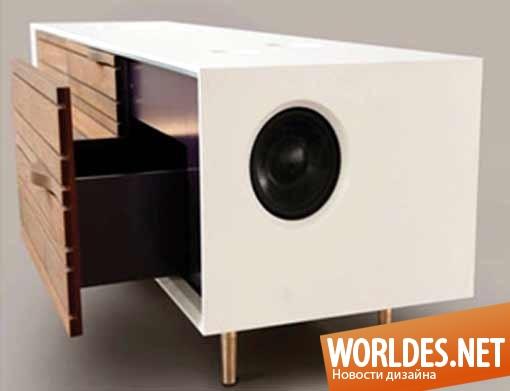 дизайн, дизайн мебели, дизайн шкафа, дизайн оригинального шкафа, шкаф, шкаф с динамиками, стерео шкаф, музыкальный шкаф