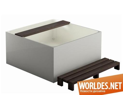 дизайн, дизайн ванной, дизайн ванной комнаты, дизайн современной ванны, современная ванна, ванна, Mineral Bath Tub, Treos