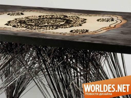 дизайн мебели, дизайн стола, дизайн оригинального стола, оригинальный стол, стол в стиле арт деко, арт деко стол, арт-деко стол, столик арт-деко
