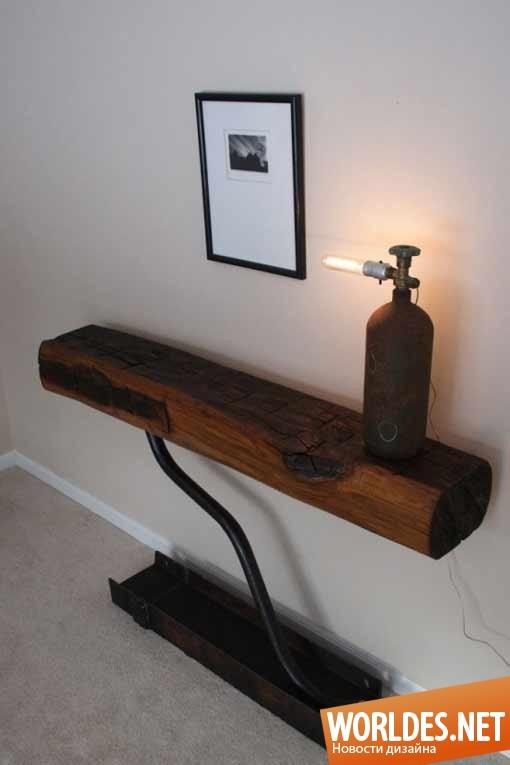 дизайн, дизайн мебели, дизайн стола, дизайн старого стола, старинный стол, антиквариатный стол, антиквариат стол, стол 12 века, стол с брусьев
